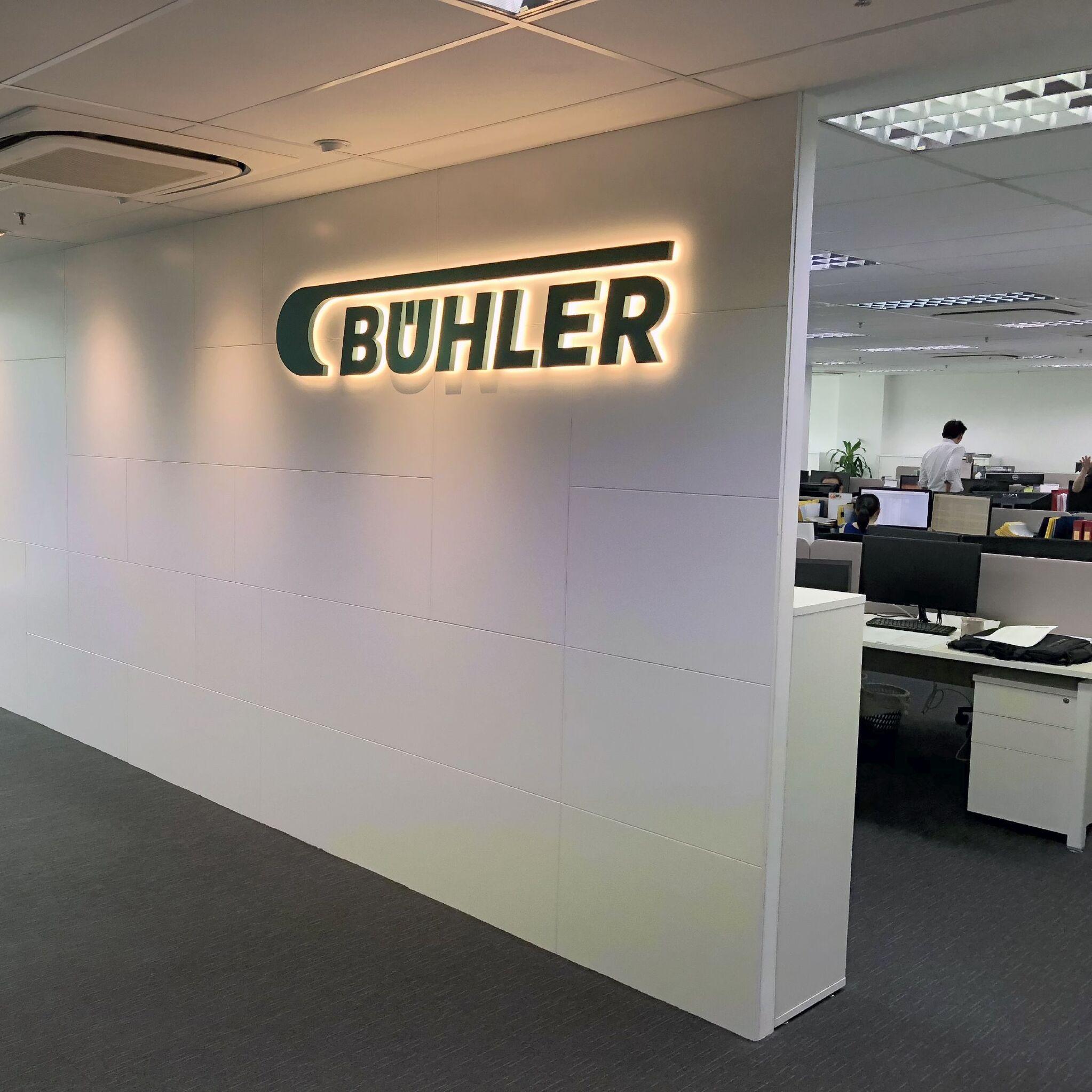 Bühler office in Singapore