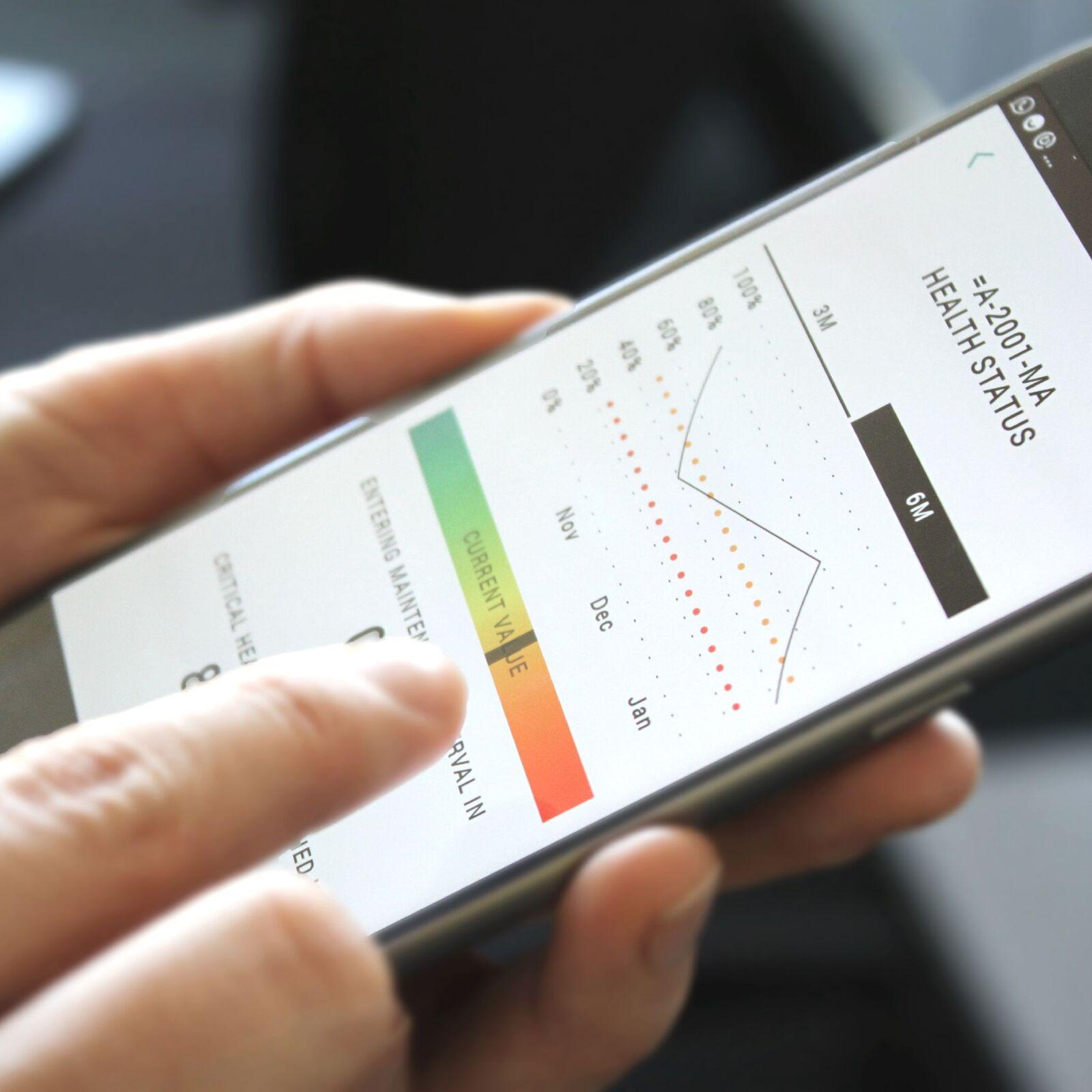PreMa showing health status of a machine