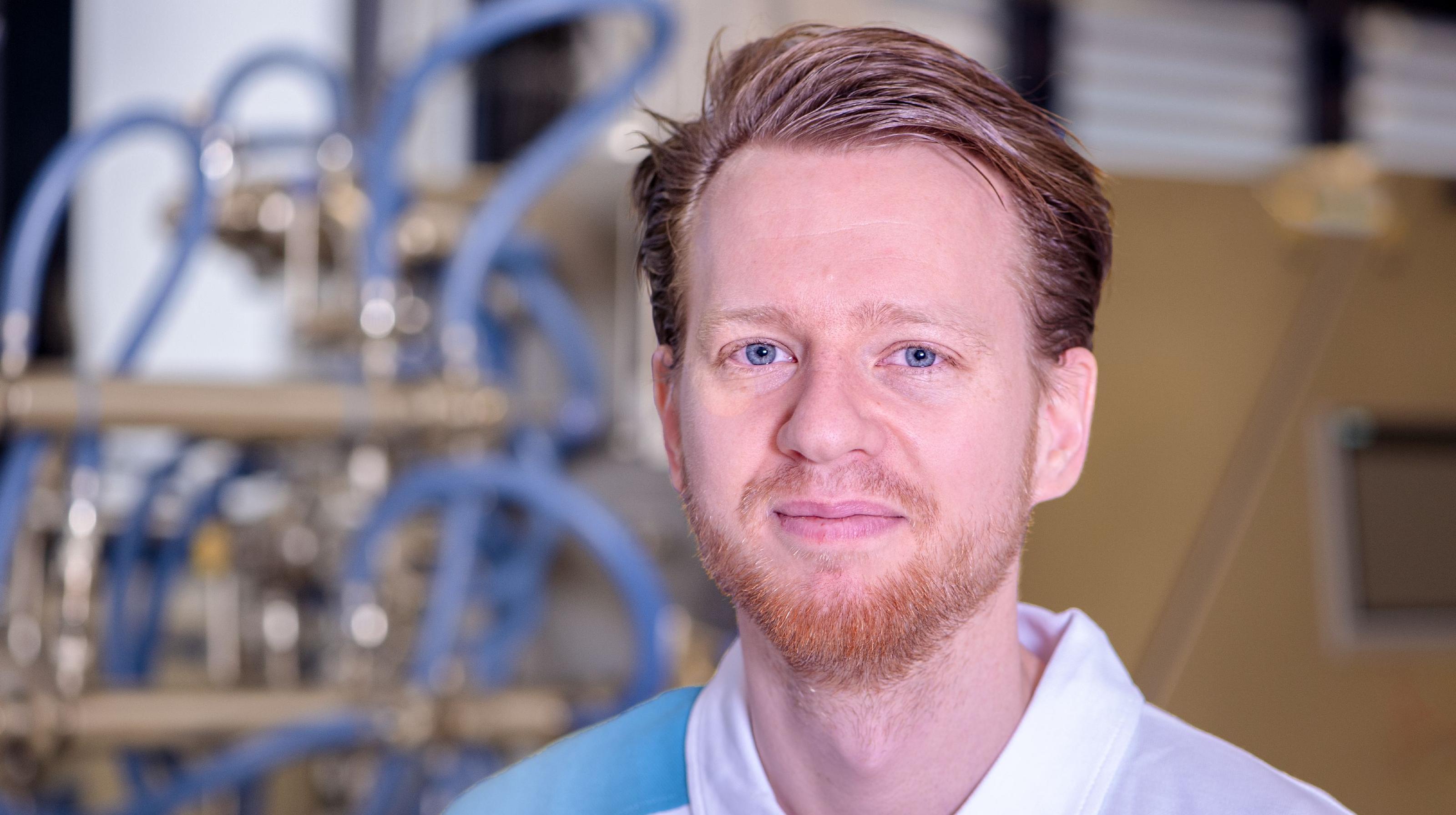 Bühler expert and technologist Patrick Kienmeyer.