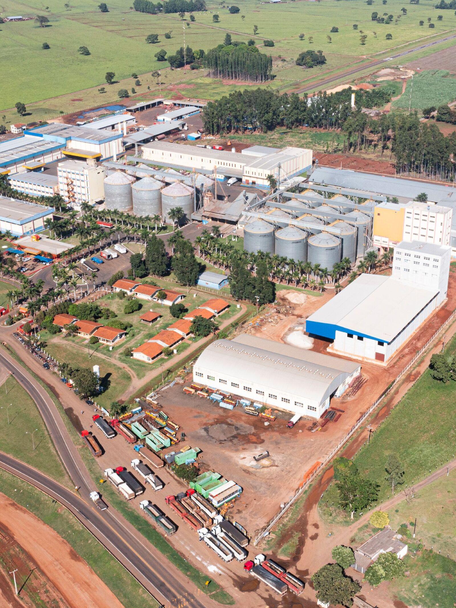Factory Dallas Alimentos in Nova Alvorada do Sul (MS).