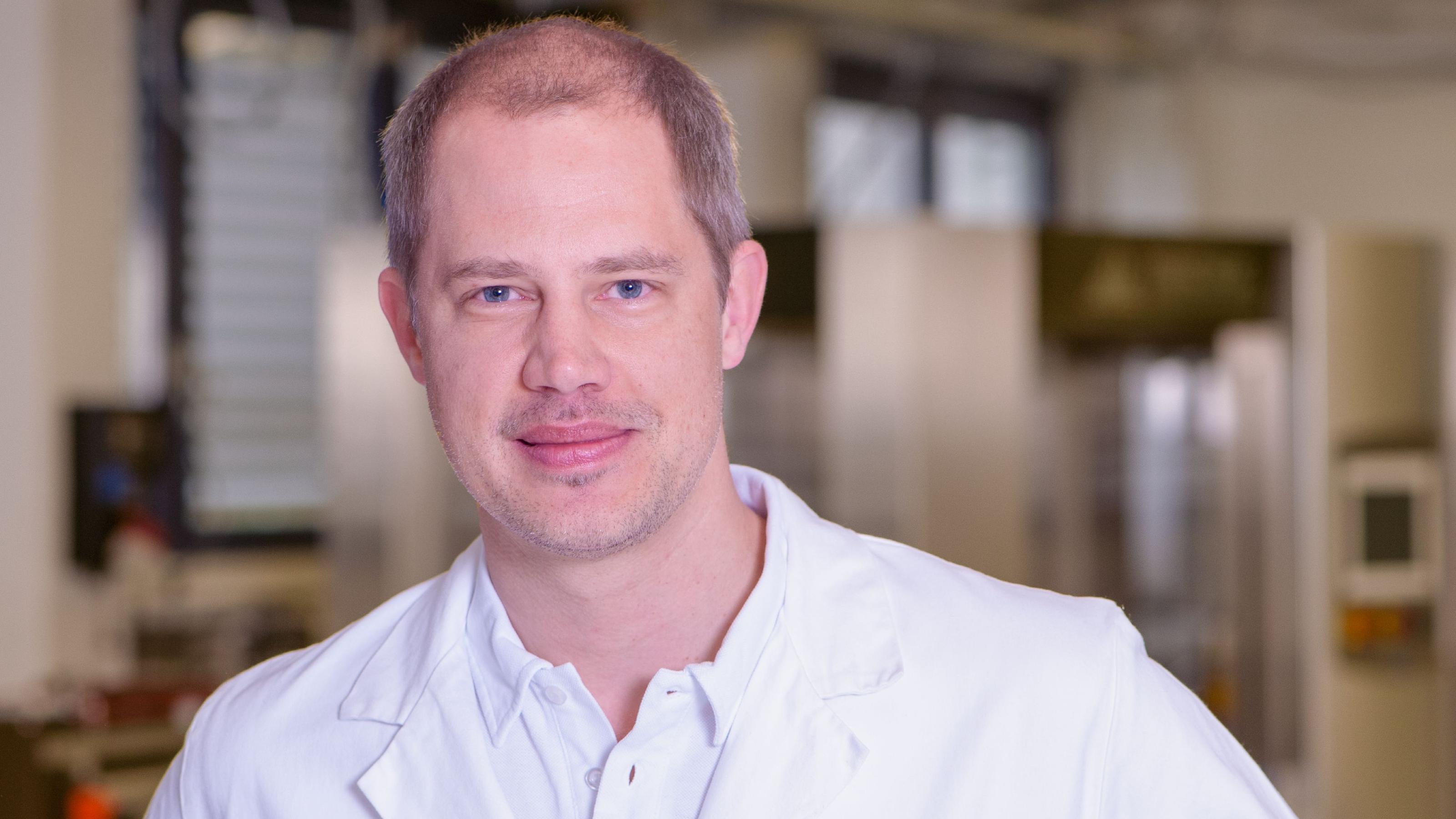 Bühler expert and technologist Andreas Clemenz.